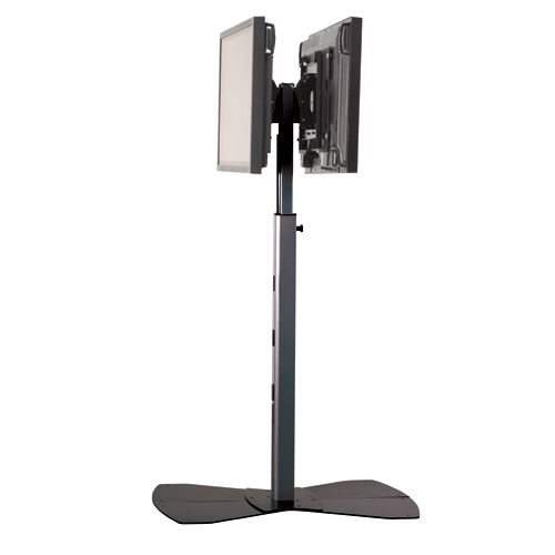 chief mounting brackets large flat panel display floor stands