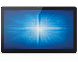 Elo E970376 Windows Touch Computer 15i2, Celeron N3160, PCAP, Black, Zero Bezel, Windows 10
