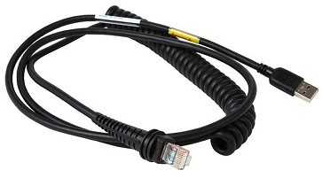 Usb Type A 9.84 Ft Honeywell Cbl-503-300-c00 Usb Coiled Cable