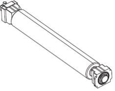 Zebra P1058930-080 Printer Kit, Platen Roller for the ZT410